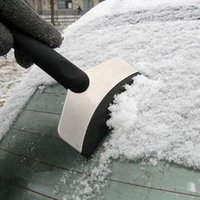 Wholesale Stainless Steel Car Ice Snow Shoveling Snow Shovel Snow Scraper Vehicle Snow Shoveling Tool Car Cleaning