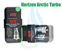 Le réservoir de couronne Horizon Arctic Turbo réservoir Turbo RDA Vaporisateur 3.5ml Arctic Turbo Sub Ohm réservoir V SMOK TFV4 mini-