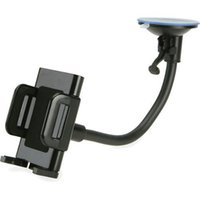 Soporte para teléfono móvil para el coche universal giratoria de plástico coche del sostenedor del parabrisas accesorios del teléfono celular barato 13-6441-100