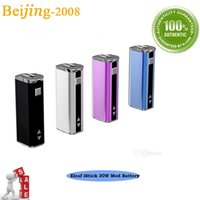 Wholesale Authorized Original mah OLED Screen MOD Battery W eleaf istick with best price and fast delivery