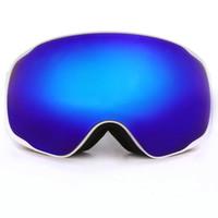 achat en gros de marques de snowboard-Marque Benice Lunettes de ski professionnelles Mode Snowboard Lunettes de protection snow / UV- Protection Multi-Color / double lentille anti-brouillard Snowboard Goggle