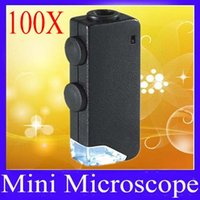 Wholesale mini Microscope X X with LED