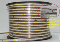 Wholesale M Waterproof leds m Warm White v LED Strip Light flexible mm CE ROHS