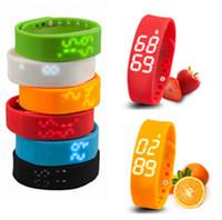 Wholesale 2016 New Smartband W2 Pedometer Sleep Tracker Thermometer Fitbit fitbit Flex Wristband Fitness Tracker Fuelband Pulsera Inteligente