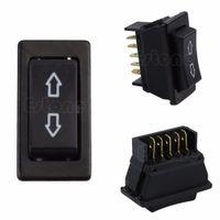 Wholesale Universal DC V A Auto Car Power Window Switch pin ON OFF SPST Rocker Black