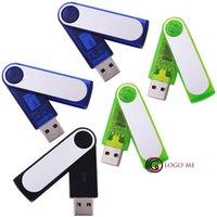 flash memory prices - Good Price Plastic USB2 GB Swivel USB Flash Pen Drive Memory Key Storage PenDrive Thumb Stick Green Black Blue