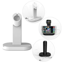 Wholesale iMobi4 Original Desktop Charger Station Stand Holder Dock for Apple Watch for iWatch for iPhone S Plus Magnetic No Cable