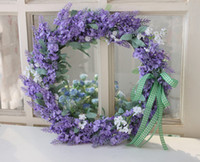 Wholesale handmade silk flower wreath spring wreath stephnie wreath east wreath handmade silk flower arrangement