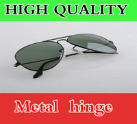 Wholesale AAAA quality UV400 Protection Sunglasses Driving Designer Sports sun glasses polarized Green Lens Brands for Men Women with Original packing