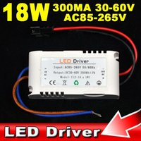 Wholesale New LED Driver W W W W W W W W Strip Light Bulb Power Supply Lighting Transformers mA AC85V V