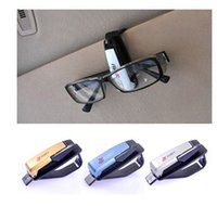 Wholesale Fashion Smart Car Vehicle Sun Visor Sunglasses Eyeglasses Holder Clip Portable Design