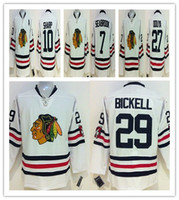 sports jersey - 2015 Winter classic New Jersey Ice hockey stitching Jerseys Winter Sports Wear blackhawk jerseys white Men jersey Football