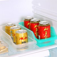 bathroom storage bins - Storage box for refrigerator beverage food bins bathroom chopstick spoon Shelves Kitchen plastic tableware tools freeshipping