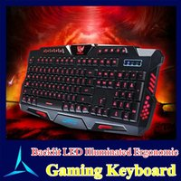 keyboard - 2015 New Arrived Gaming Keyboard Wired USB Multimedia Backlit Gamer Keyboards With Color Changing For LOL DOTA2