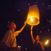 Wholesale Flying Lantern KONGMING lantern PRAYING LANTERN SKY CHINESE LANTERNS Outdoor Lighting