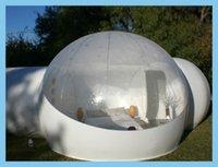 Wholesale outdoor half transparent bubble lawn tent