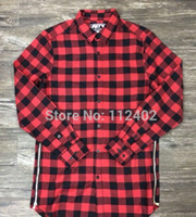 Hip Hop Designer Clothes For Cheap Prices Cheap plaid shirt Best long