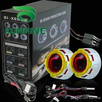 Cheap Cheap Shipping G3 Bi-Xenon HID +Projector Lens Kit +Double Angle Eyes +Bulbs+14months warranty