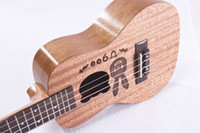 Wholesale Factory inch inch ukulele cute cartoon children small Hawaii four string guitar Shabili