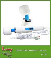 Wholesale Hot Ultimate Magic Wand Massager with Hitachi Head Speed Powerfull Vibration Full Body Massager Adult Sex Toys V US plug by DHL