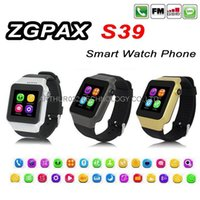 better homes - ZGPAX S39 Smart Watch GSM Phone with Camera TF SIM Card Bluetooth Wrist Smartwatch for Android IOS iPhone6 Samsung S6 Smartphone Better S29