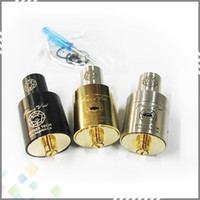 Wholesale 2014 Plume Veil E Cigarette Plume Veil Atomizer Stainless steel Plumeveil RDA Clone Mod Vaporizer with thread DHL Free