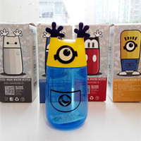 Wholesale Cartoon creative Children New Products Fashion Brand New Amazing shape Readily cup Safety plastic with Color box packaging