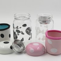 Wholesale 2016 Creative mushroom water glass bottle ml portable cup with lid and tea infuser and cup cover for students or girls boys and lovers