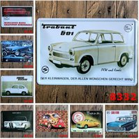 Wholesale cm Metal Tin Sign Cars we love Retro vintage Classic Tin Bar pub home Wall Decor Retro Tin Poster