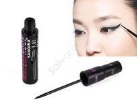 Wholesale 1 Smooth Waterproof Liquid Eye Liner Make Up Cosmetic Black Eyeliner Black Casing