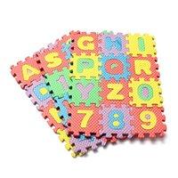 Wholesale 36pcs Puzzle Age Kid Educational Toy Alphabet A Z Letters Numeral Foam Mat for Children Educational Supplies