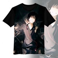 animations shirts - Hot New DURARARA Orihara Izaya Cosplay Animation Summer T shirt