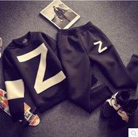 pocket pc - Hip Hop Jordan Sweatshirt Loose Mens Hoodies Z Letters GD Style Space Cotton Mens Tracksuit Set Tops trousers Set Black Oversize S XL