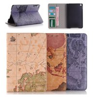 air china photos - For iPad Mini Map PU Leather Cases Wallet Flip Floral Flower Floral Case Cover With Stand Card Slot Photo Frame for iPad mini4 Air Air2
