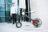 folding electric bicycle - Updated version AH battery mini electric cycling the lightest folding bikes electric scooter electric bicycle