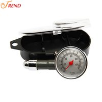 Wholesale 200PCS New Meter Pressure Tyre Measurement Tool To save gas Fashion Car Vehicle Motorcycle Dial Tire Gauge