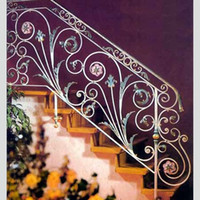 wrought iron fence - Wrought iron fence fence fence body home improvement building materials