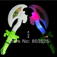 Wholesale Flashing Axe With Music Children s Cosplay Tool Toy Baby Music Toy