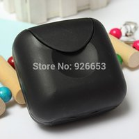 hotel soap - Bathroom Accessories Candy Color Soap Box Home Hotel Travel Soap Dish Waterproof Soap Case SoapBox Packaging Boxes