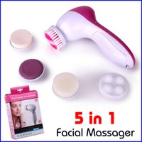 mini washing machine - Face Massager in Electric Wash Face Machine Facial Pore Cleaner Body Cleaning Massage Mini Skin Beauty Massager Brush
