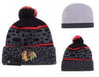 animal stocking caps - New Beanies Team Hockey Pom Knit Hats Sports Cap Mix Match Order All Caps in stock Top Quality Blackhawks Hat