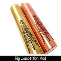 Rig Competición Mod 18650 Mecánica Mod Clone Magnet Switch para mutación X Doge Oscuro caballo Freakshow V2 V3 RDA RBA Atomizadores