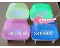 Wholesale hamster supplies bathroom high quality plastic material hamster bath room multifunctional