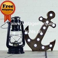 Wholesale decorative metal letters light vintage marquee lights inch amusement vintage metal light and