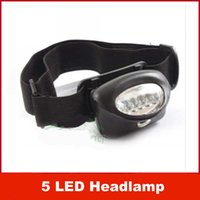 LED head gasket - New Black Waterproof Gasket LED Headlamp Camping Hiking Head Light Lamp Torch