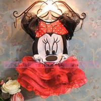 minnie mouse dress - Bear Leader Summer New children Girl s dress Suit Minnie Mouse kids Clothing sets princess girls clothesAQZ050