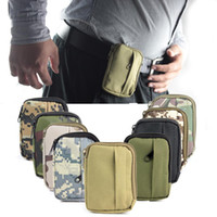Wholesale Military Nylon Utility Storage Tactical Pouch Small and Convenient For Running Biking Hold Key Gels