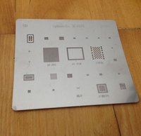 Wholesale IC Repair BGA Rework Reballing Stencil Template For iPhone S
