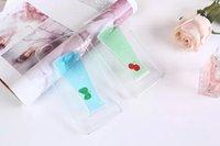 apple juice - Newest Fruit juice Liquid Transparent Case Back Cover For Apple iPhone iphone plus Phone Cases Quicksand Style