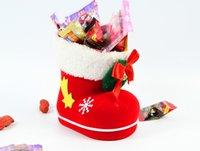 Wholesale Christmas decorations Christmas tree ornaments Christmas boots Christmas boots Christmas flocking Pen